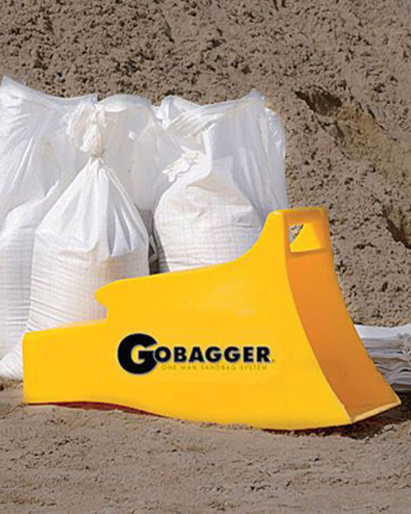 Tired of Shovelling S...! -  GoBagger comes to the Rescue!