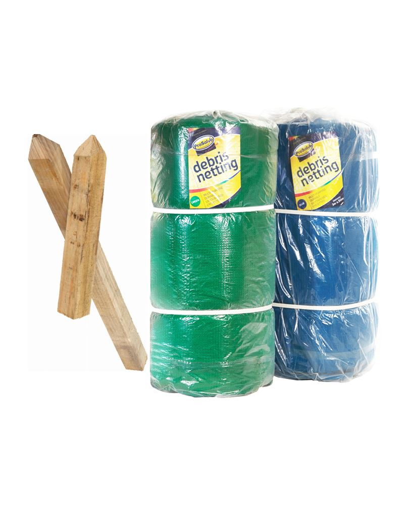 NEW PRODUCTS: Debris Netting & Wooden Marking Out Stakes