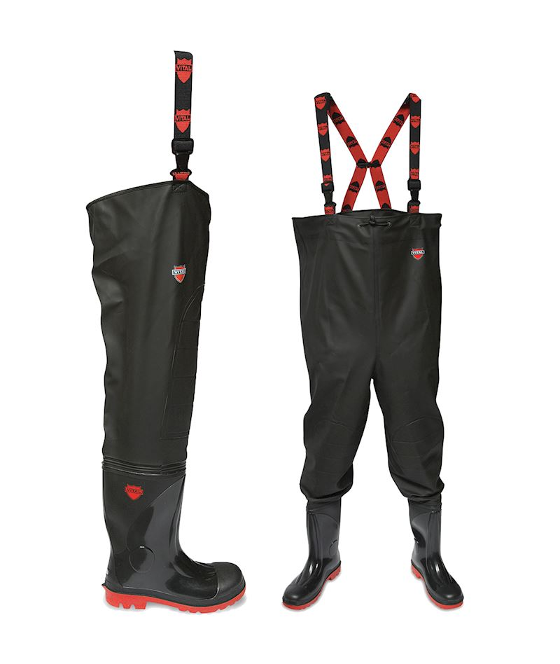 NEW PRODUCTS: Chest and Thigh Safety Waders