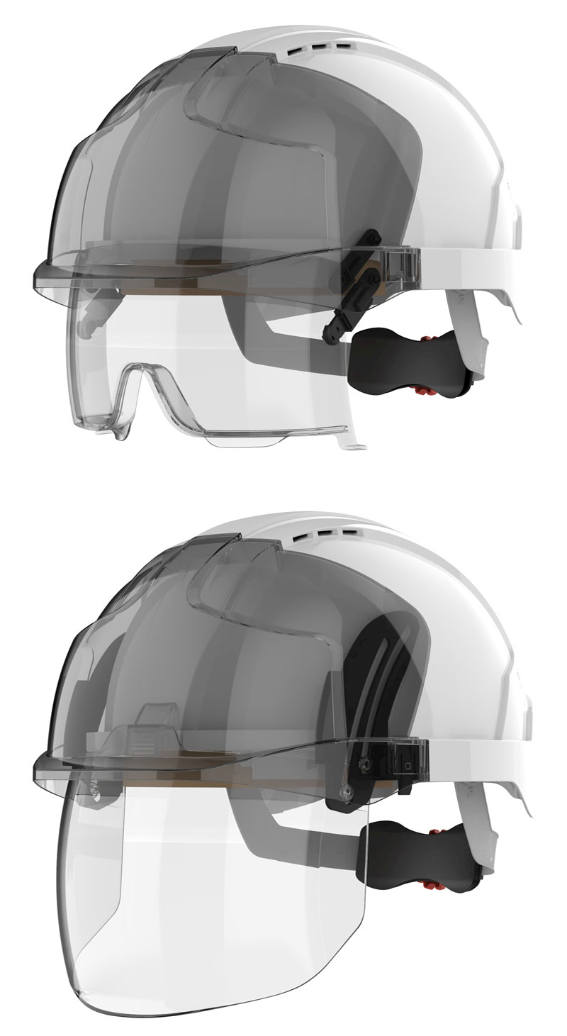 Next generation JSP Evo Vista Helmets