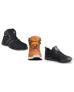 NEW RANGE: Titan Safety Footwear