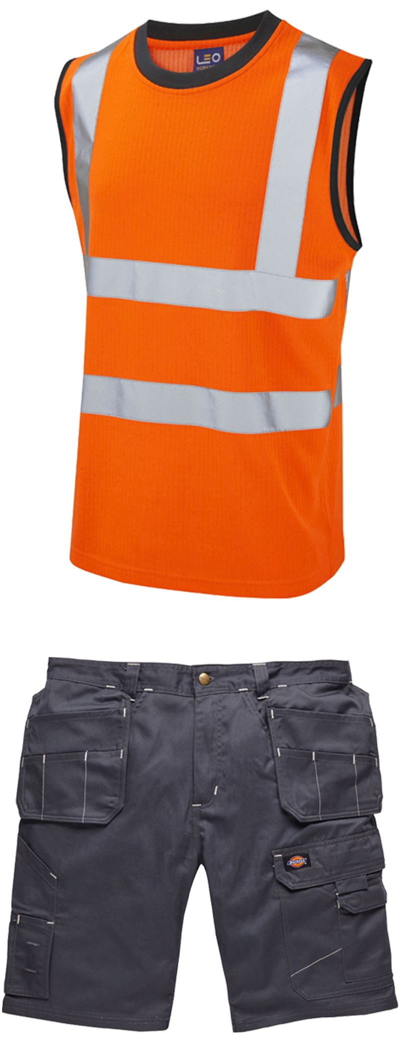 Summer Workwear - Vest and Shorts