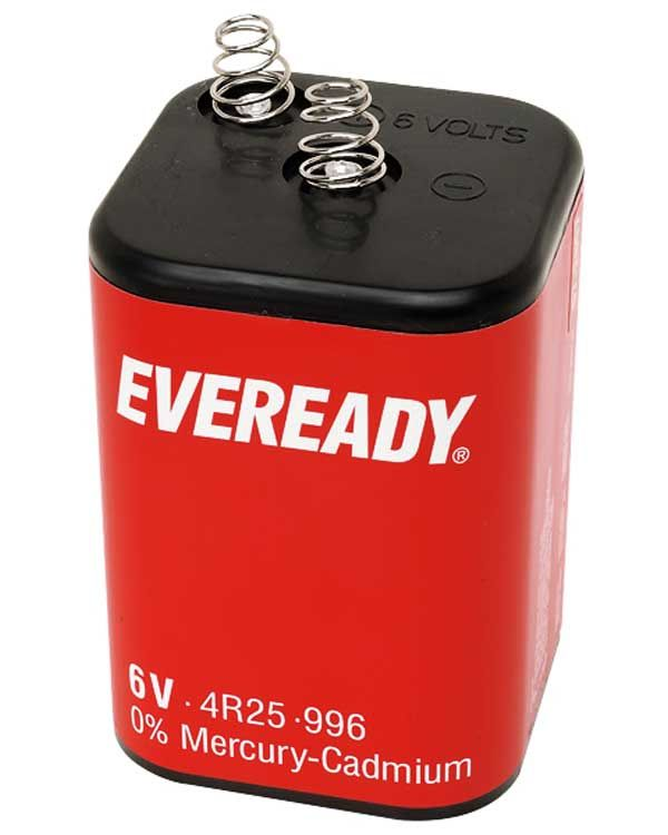 6 volt battery 4r25 pj 996 eveready from aspli safety. Black Bedroom Furniture Sets. Home Design Ideas