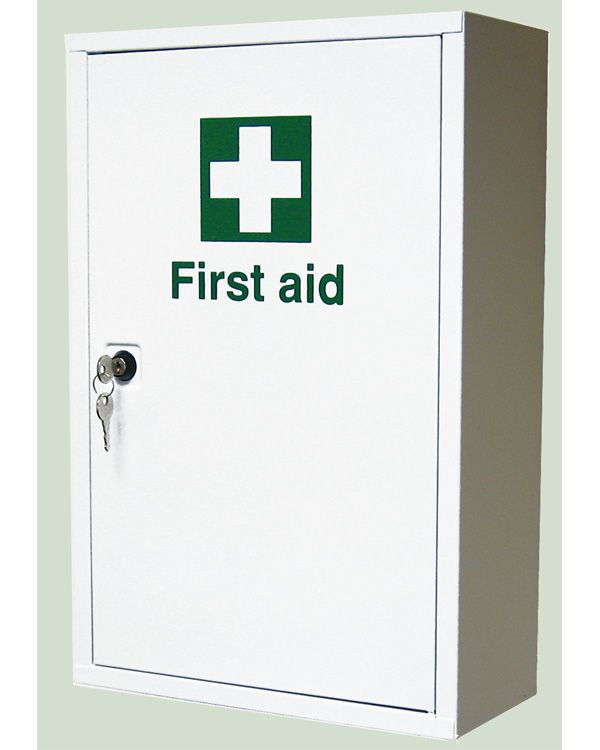first aid cabinet metal aid cabinet from aspli safety 15455