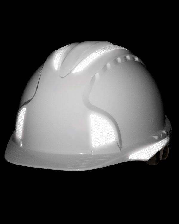Reflective hard hat and helmet stickers ...