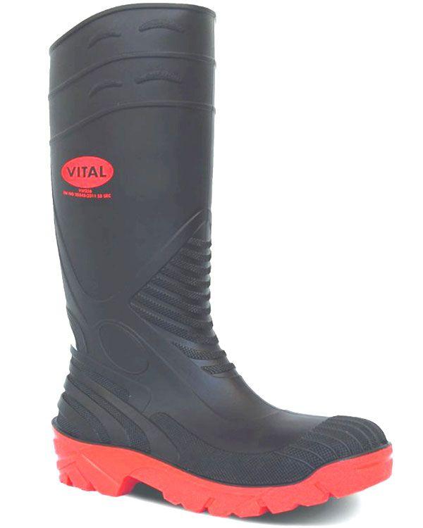 22a054dd83a Safety Wellington With Steel Toe & Midsole - Titan Wellies