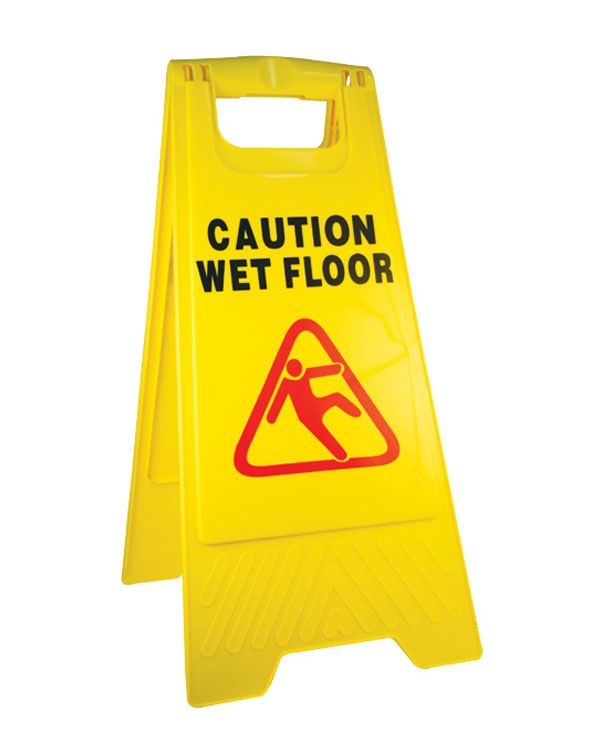 Caution Wet Floor Sign A Board From Aspli Safety