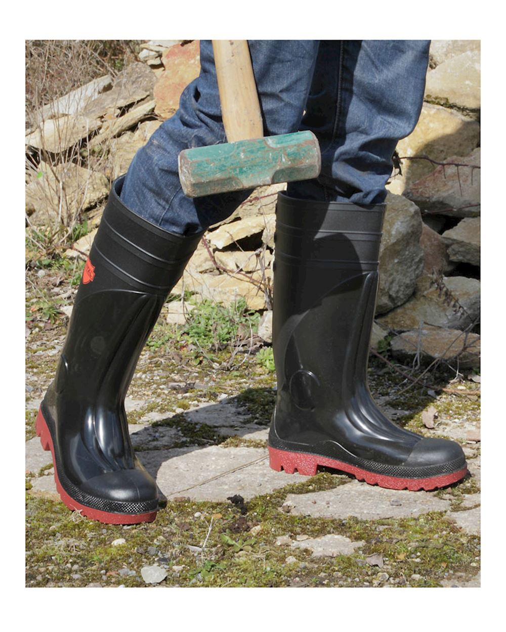 b15b089f3be Size 14 And Size 15 Safety Welly With Midsole - Sitemaster