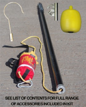 Rescue Pole Kit Telescopic Complete With Attachments