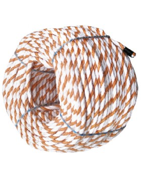 Floating Lifeline 220 Metre Coil Staple Spun Rope Pp