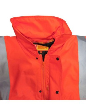 High Visibility Orange Anorak Class 3