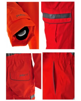 Hi-Vis Waterproof Coverall Network Rail RIS-3279-TOM