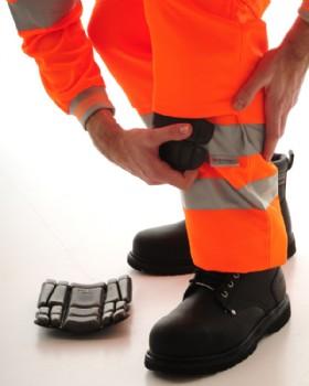 Hi - Vis Orange  Network Rail Trousers - RIS-3279-TOM  Regular Leg