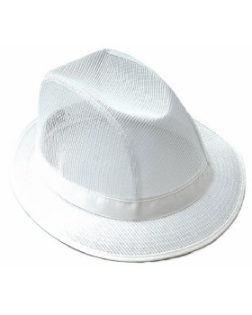 Food Trade Trilby Hat White