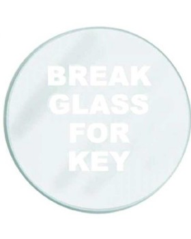 Red Key Box Replacement Glass