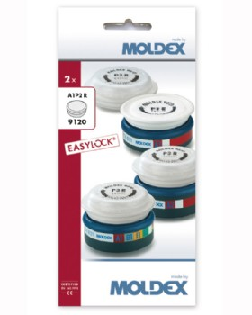 Moldex A1P2 R Easylock Gas And Particulate Filter 9120