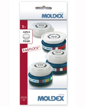 Moldex A2P3 R Easylock Gas And Particulate Filter