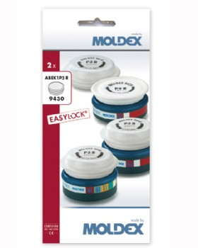 Moldex ABEK1 P3 R Easylock Gas And Particulate Filter 9430