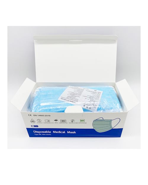 Type 11R Disposable 3ply Face Mask - Pack of 50