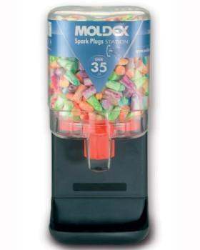 Moldex Spark Plugs Station 250 Pairs SNR 35dB