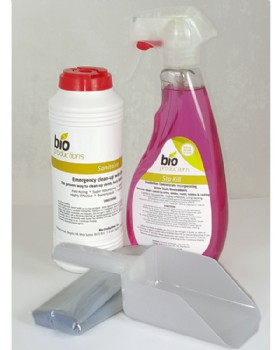 Bio Sanitaire Body Spill Clean Up Kit Pack Of 6