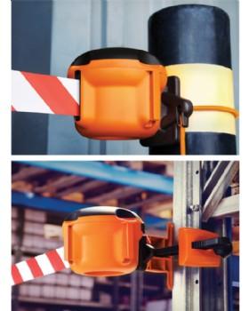 Skipper XS Retractable Barrier Tape Unit - Indoor
