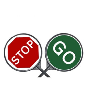 Lollipop Stop And Go Traffic Signs