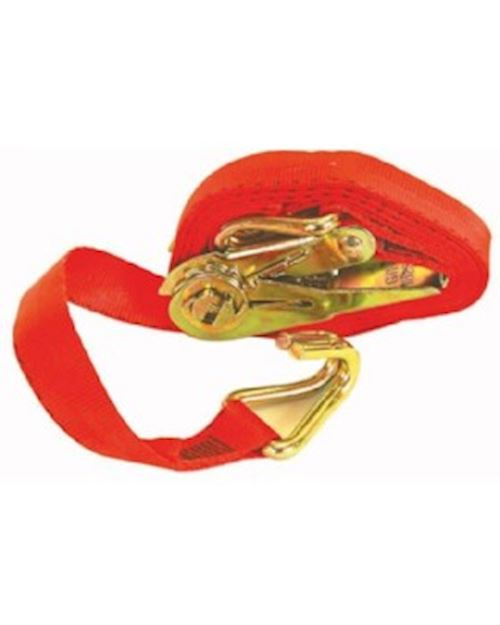Ratchet Lashing Strap 3m With Wire Hook