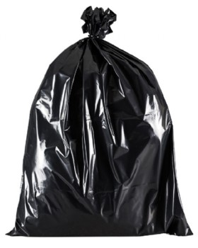 Black Refuse Sack - Bin Bag Heavy Duty Box 100