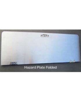 Folding Hazard Sign ADR Aluminium Plate  Hazchem