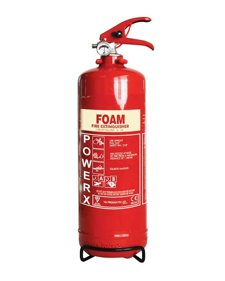 2 Litre Foam Extinguisher - PowerX