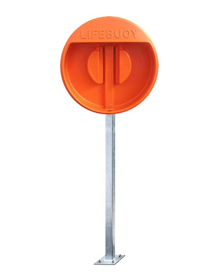 24 Inch Lifebuoy Holder - For 24 Inch Lifebuoys Surface Mounted Post