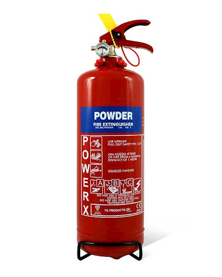 2kg Dry Powder Fire Extinguisher  - PowerX