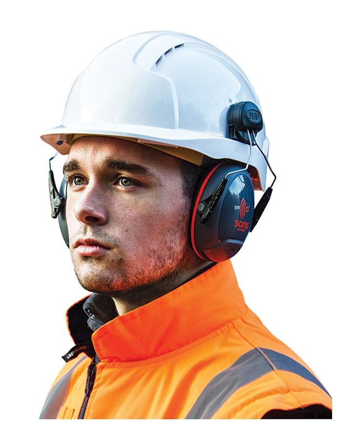 JSP Sonis Compact Helmet Mounted Ear Defender