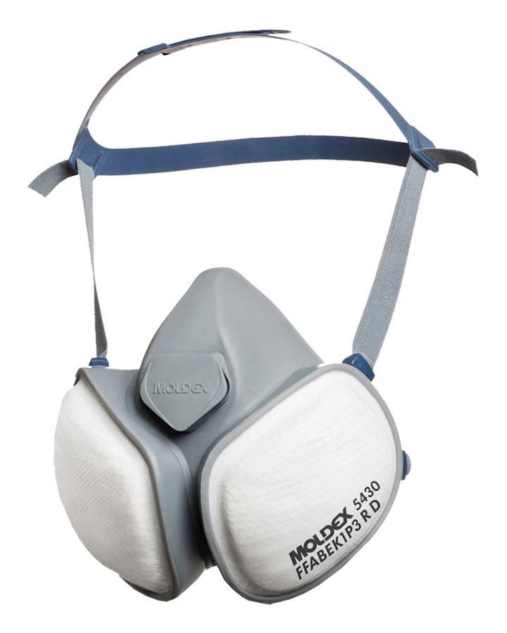 Moldex 5430 A1B1E1K1 P3 RD Compact Mask
