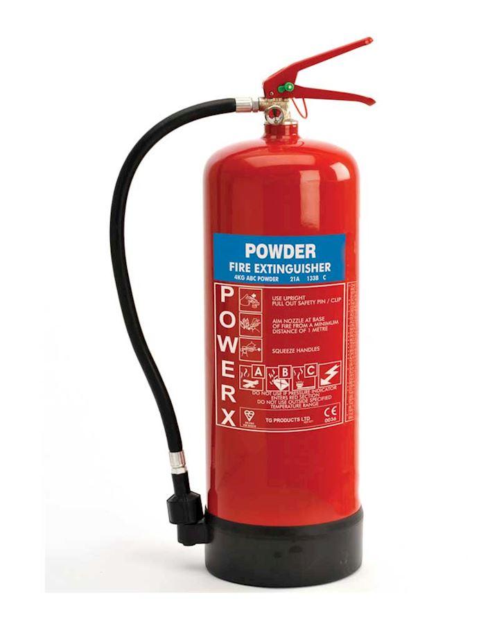 4kg Dry Powder Extinguisher -  PowerX