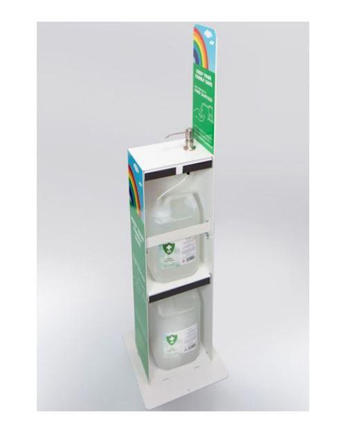 5 Litre Floor Standing Hand Sanitiser Dispenser