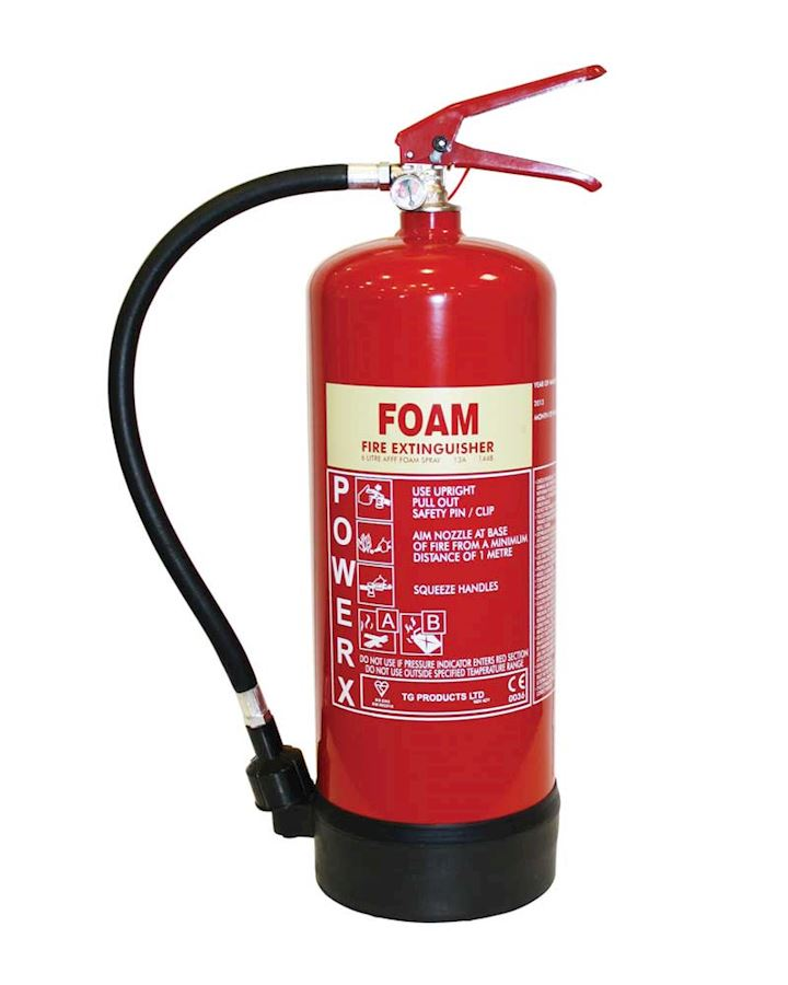 6L AFFF Foam Fire Extinguisher - PowerX