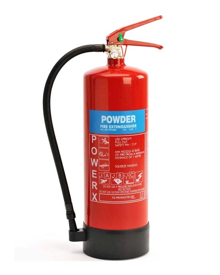 6kg Dry Powder Fire Extinguisher - PowerX