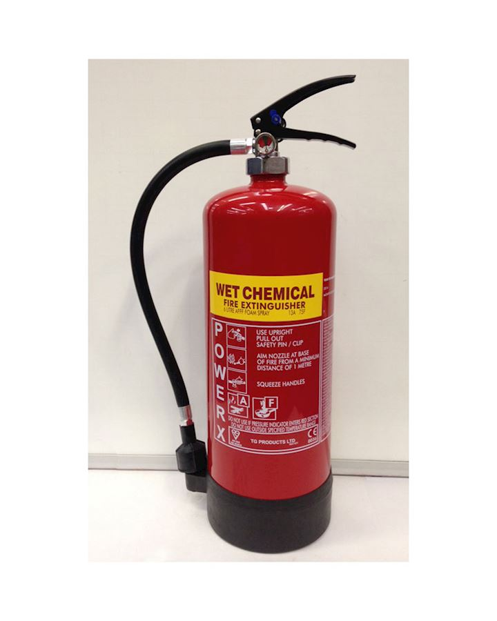 6l F Class Wet Chemical Fire extinguisher