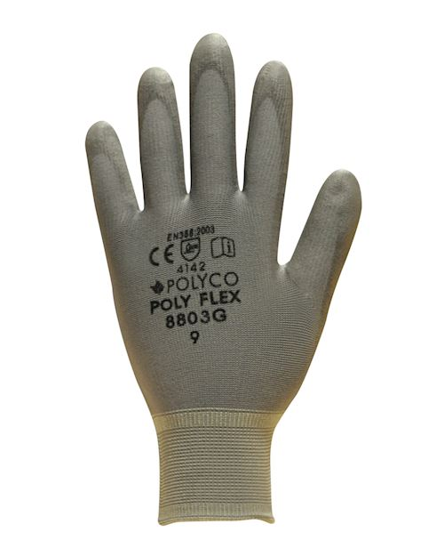 Polyflex Knitted Nylon Glove