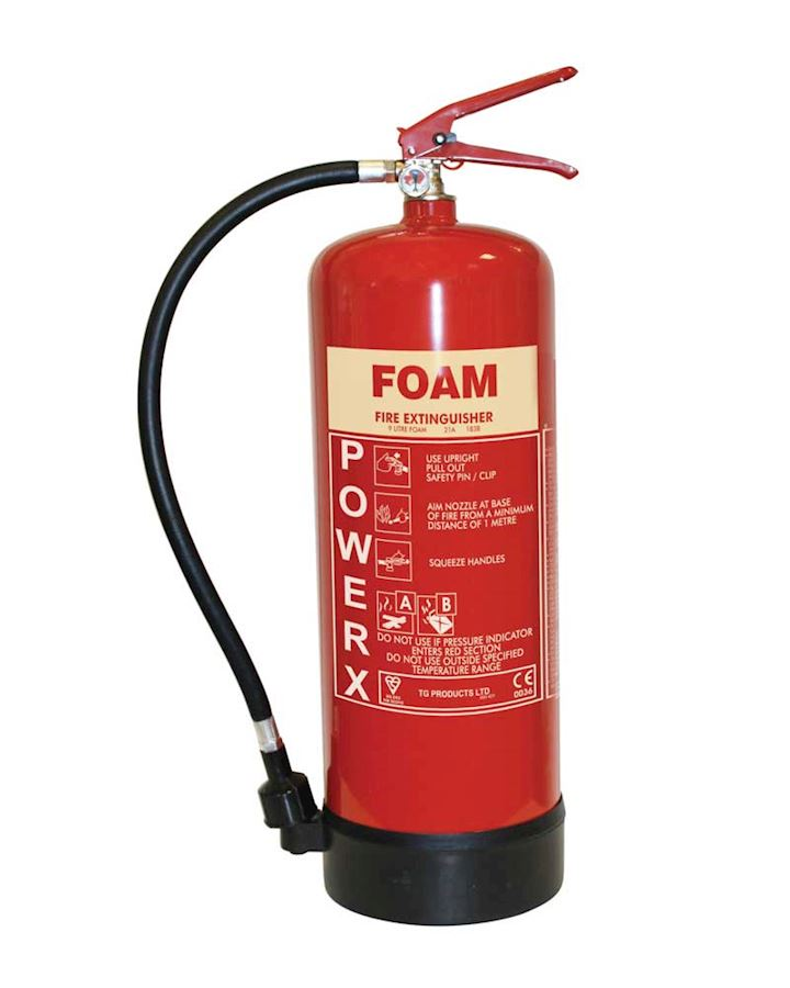 9L AFFF Foam Stored Pressure Fire Extinguisher - PowerX