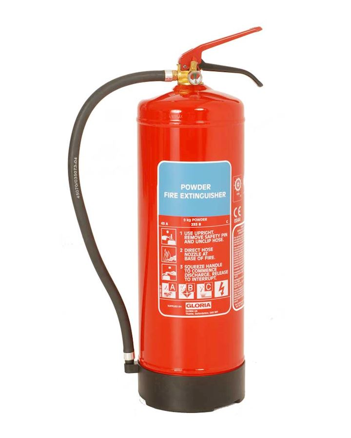Gloria 9kg Dry Powder Fire Extinguisher