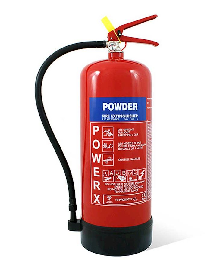 9kg Dry Powder Fire Extinguisher - PowerX