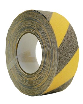 Anti Slip Tape Black -Yellow Hazard Warning