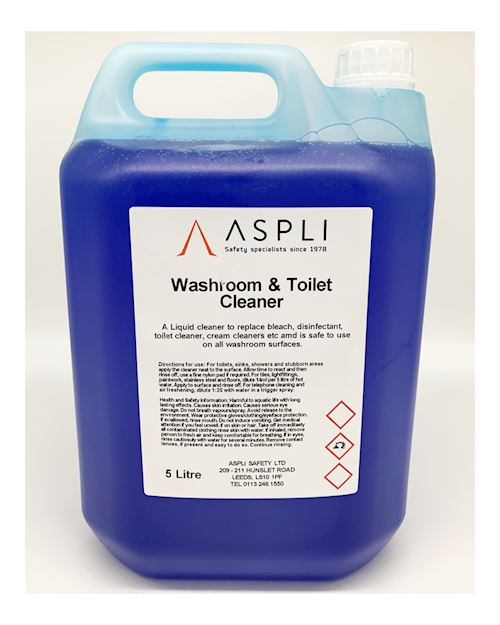 Washroom and Toilet Cleaning Liquid