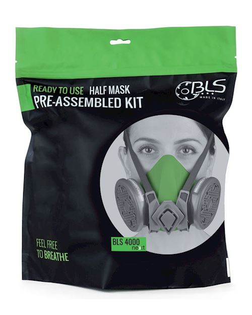 Reusable Half Mask with A2P3 R Filter - BLS 4600 Next