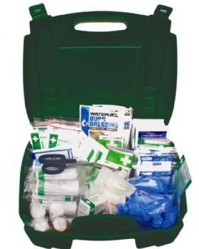 First Aid Kit British Standard Compliant BS8599 Medium Workplace