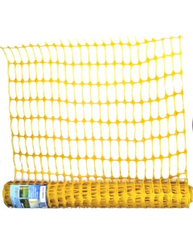 Yellow Barrier Mesh Fencing
