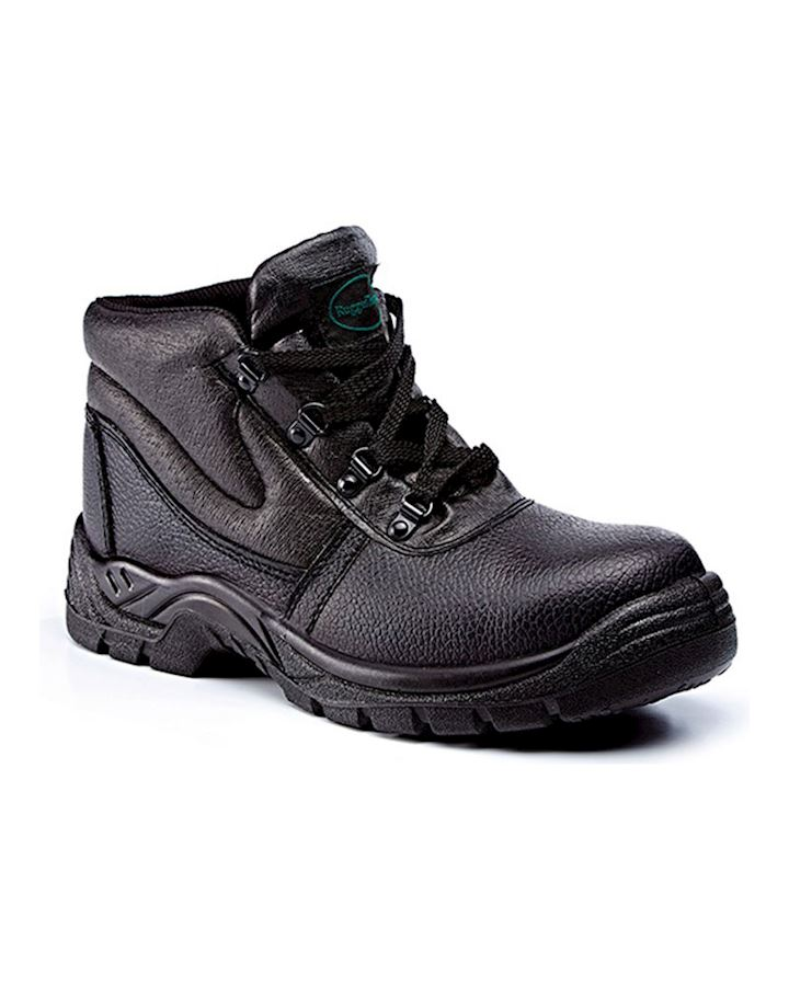 Black Leather Safety Boot SBP